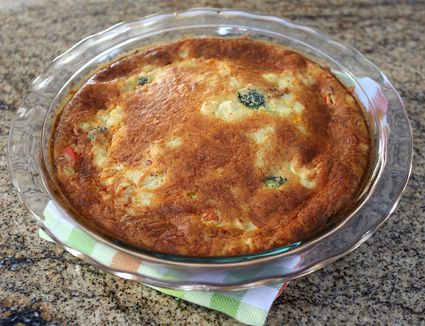 Impossible Vegetable Pie