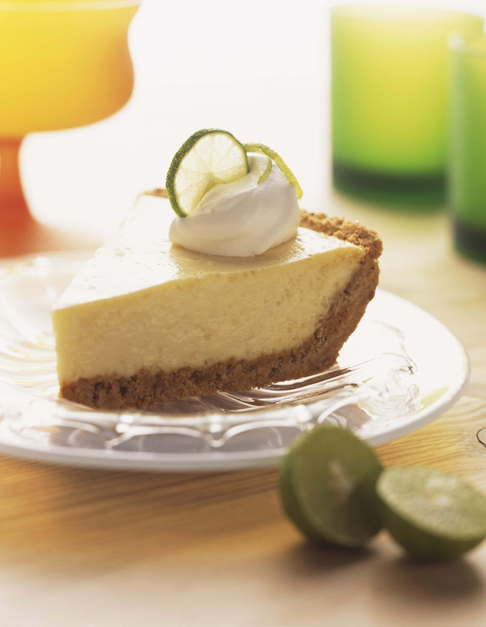 Receta de pastel de látigo fresco con gelatina de lima