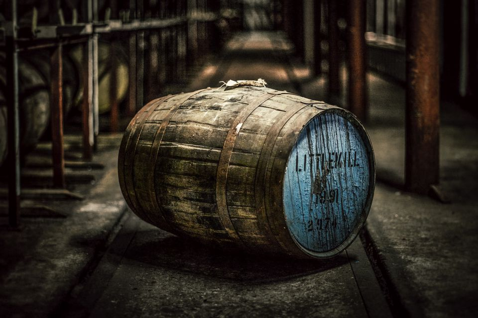 Lone Barrel of Littlemill Scotch Whisky