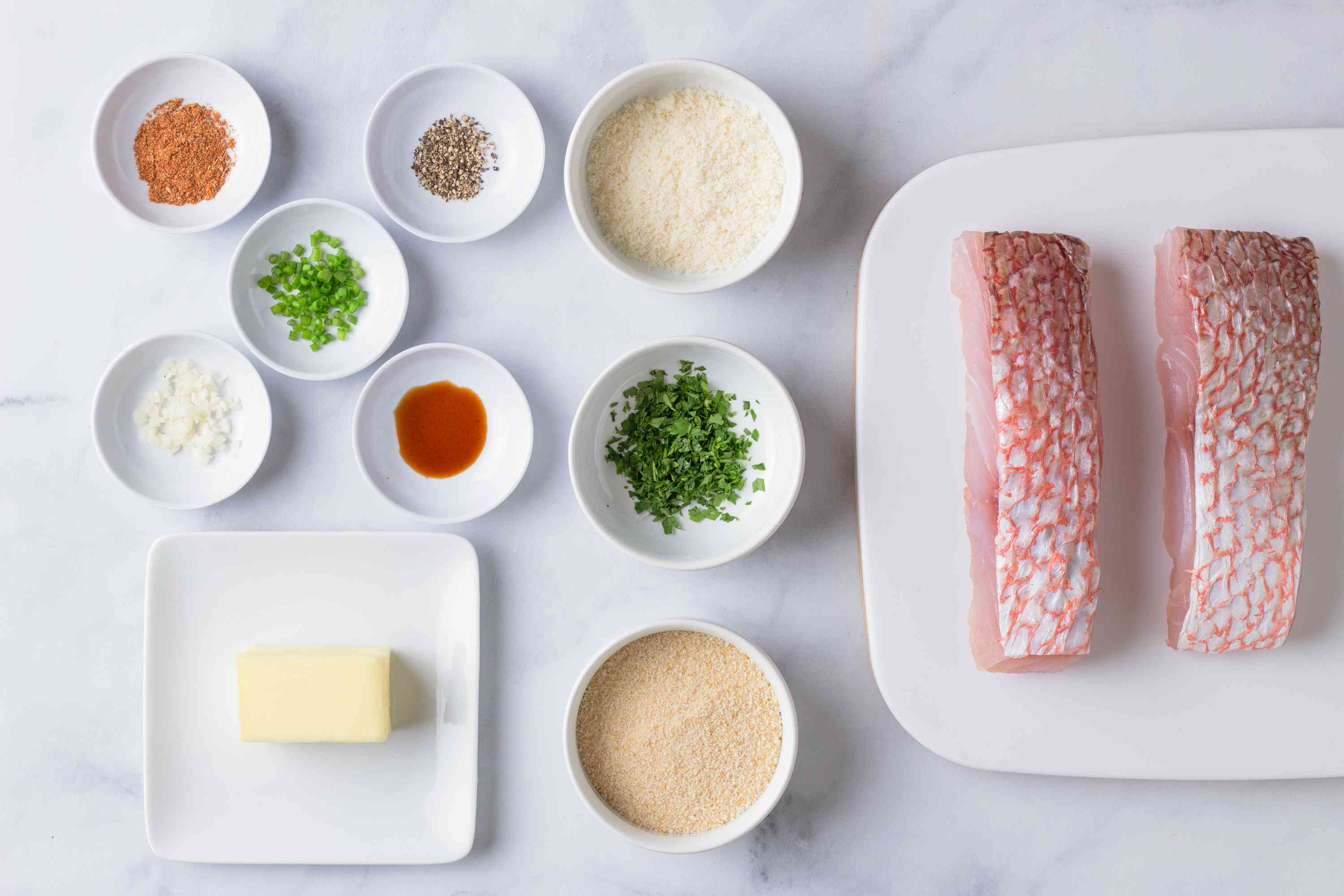 Baked red snapper recipe ingredients