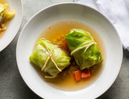 Pork Japanese Cabbage Rolls