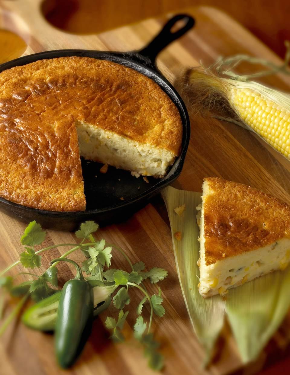 Skillet jalapeno with cornbread