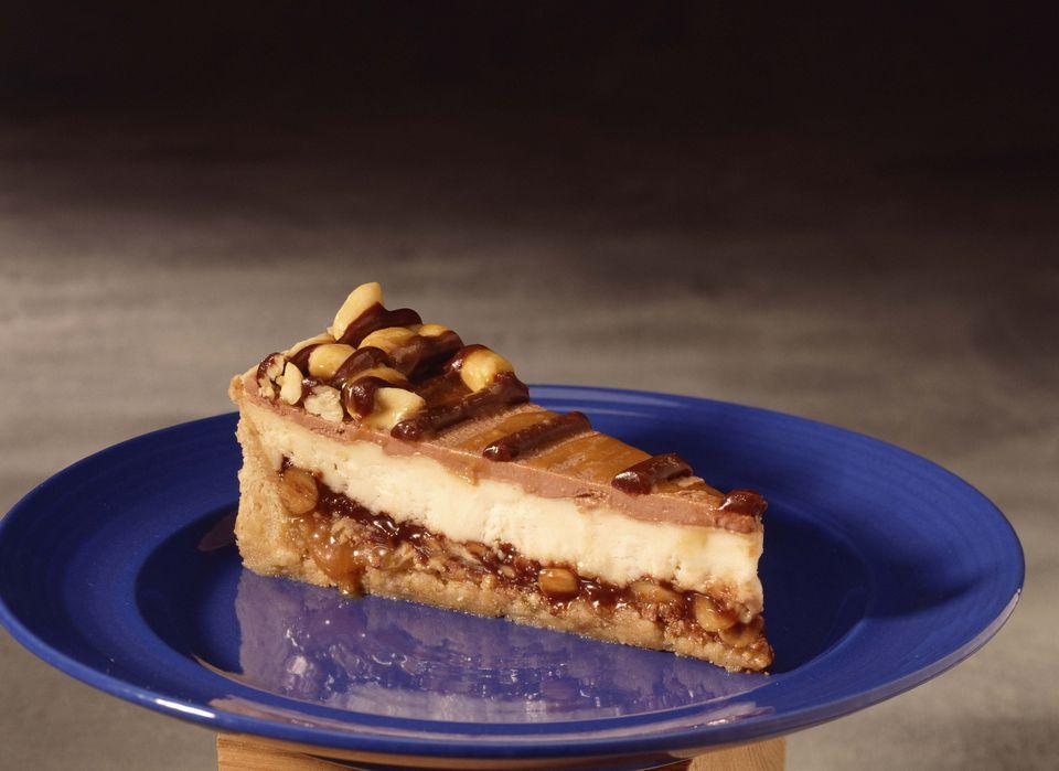 Vegan Chocolate Peanut Butter Cheesecake