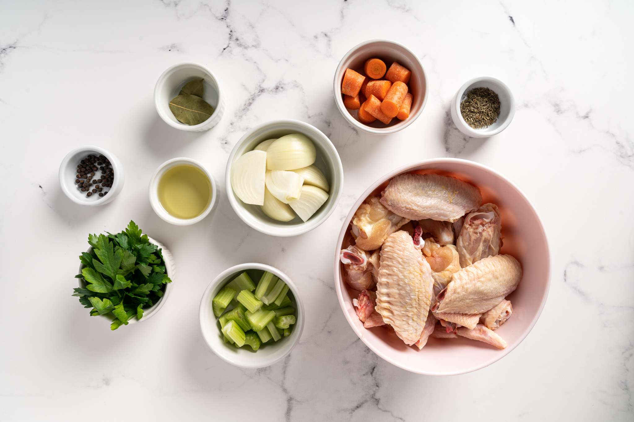 Chicken Broth From Wings ingredients