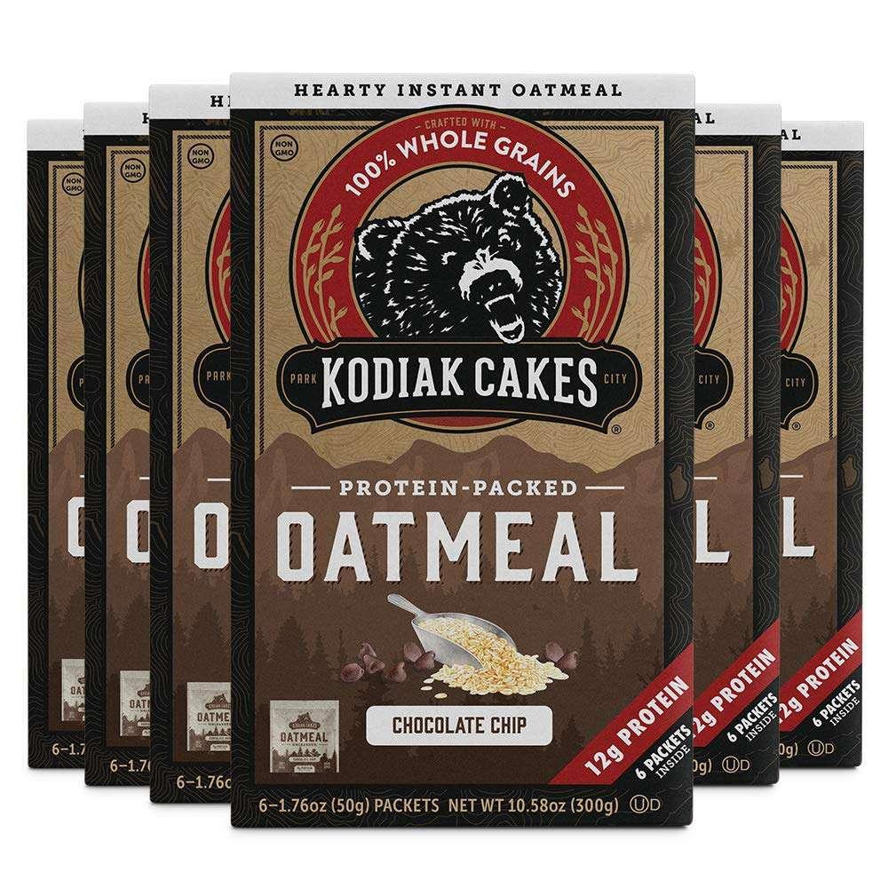 Kodiak Cakes Chocolate Chip Oatmeal Packets