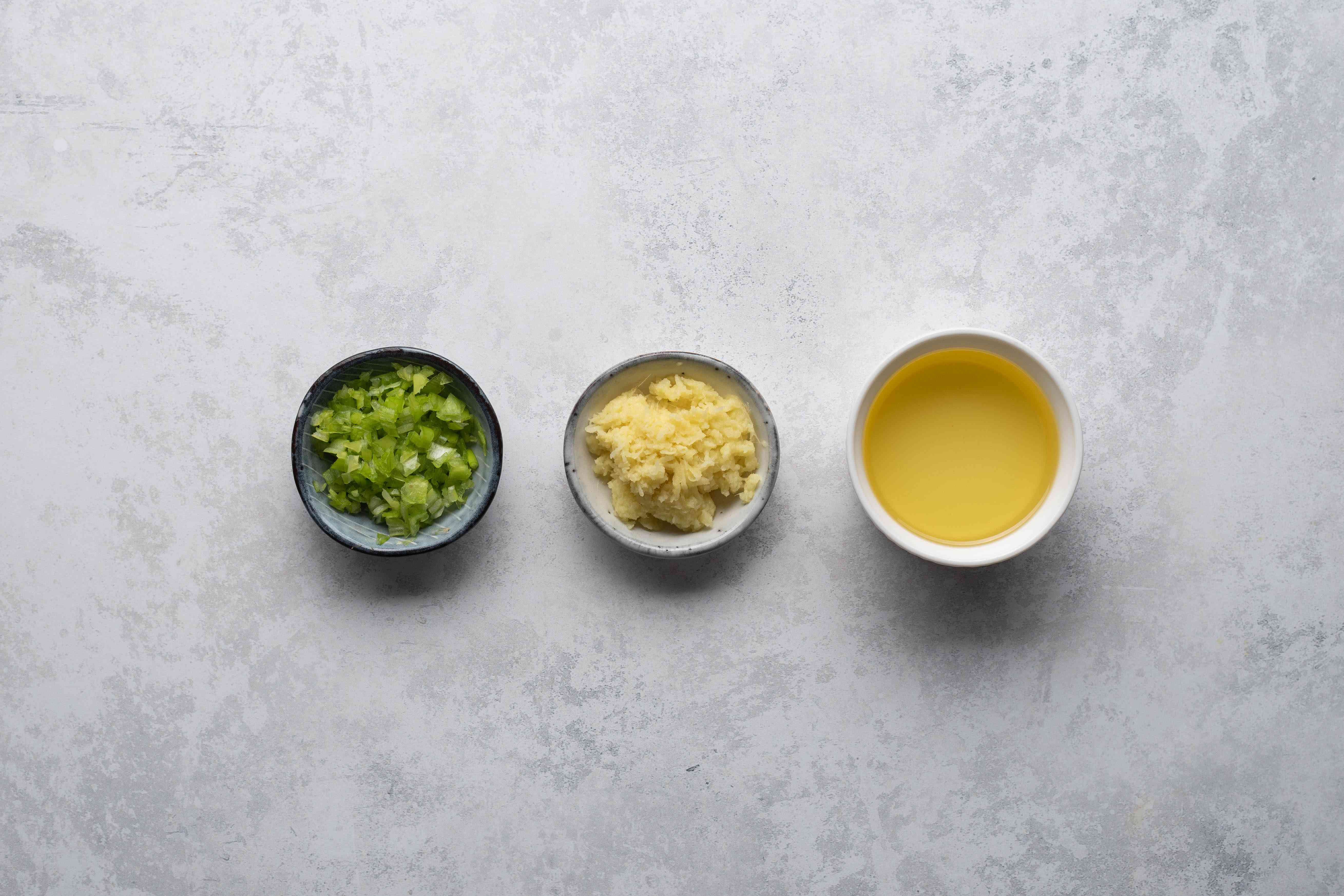 Ingredients for dipping sauce