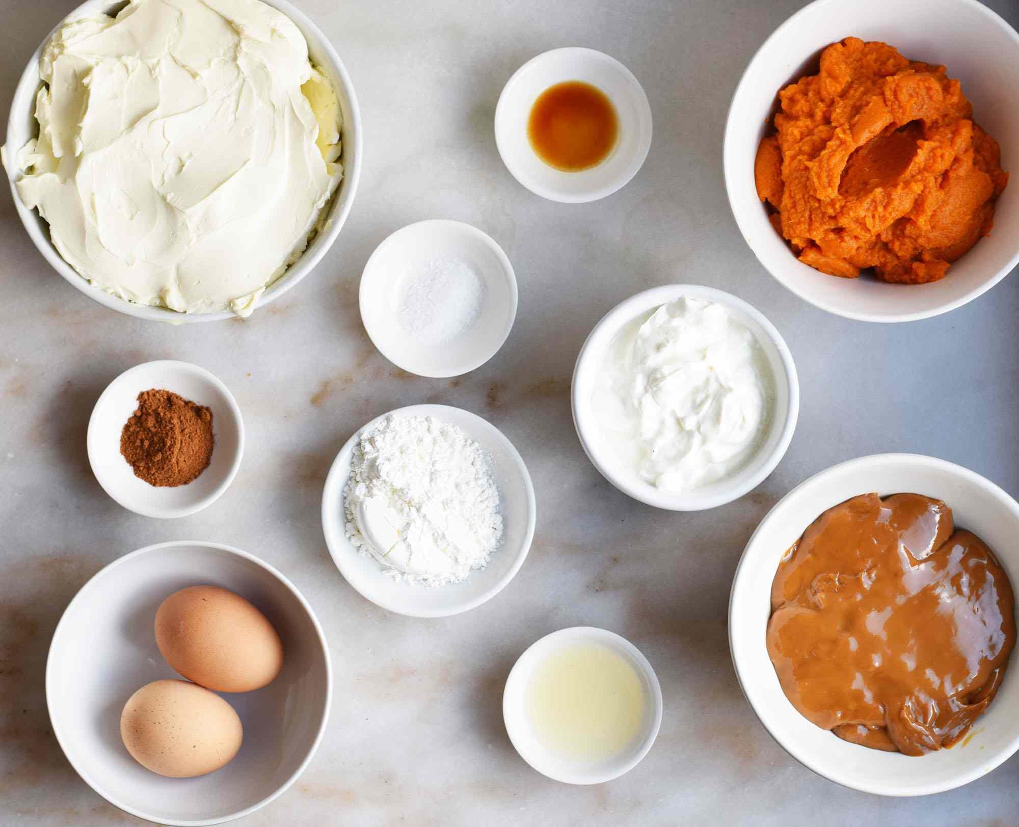 pumpkin cheesecake filling ingredients