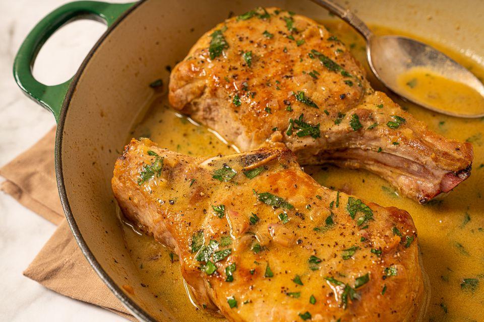 Pan Sauce for Chicken, Pork, or Steak