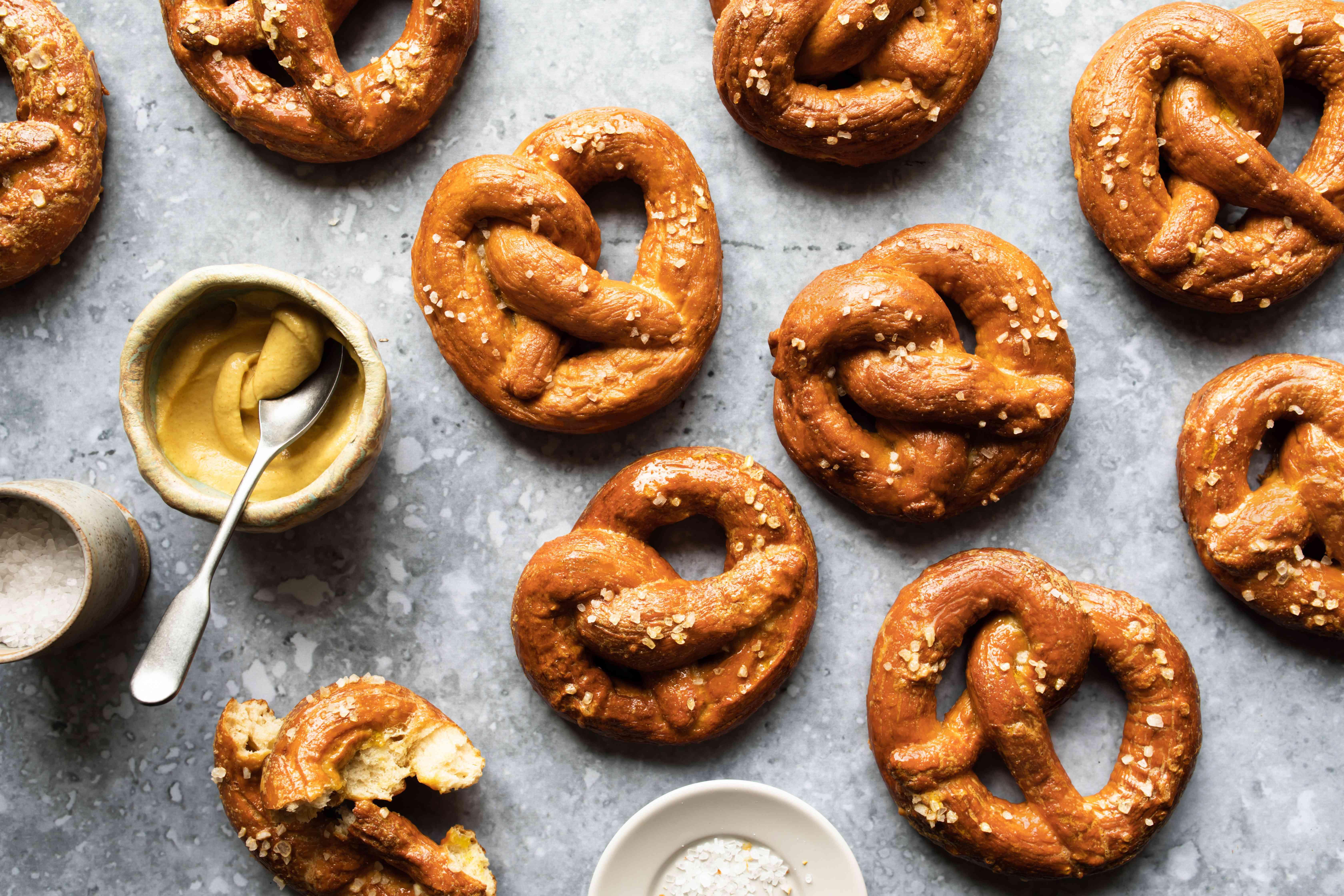 Brezel soft pretzel recipe