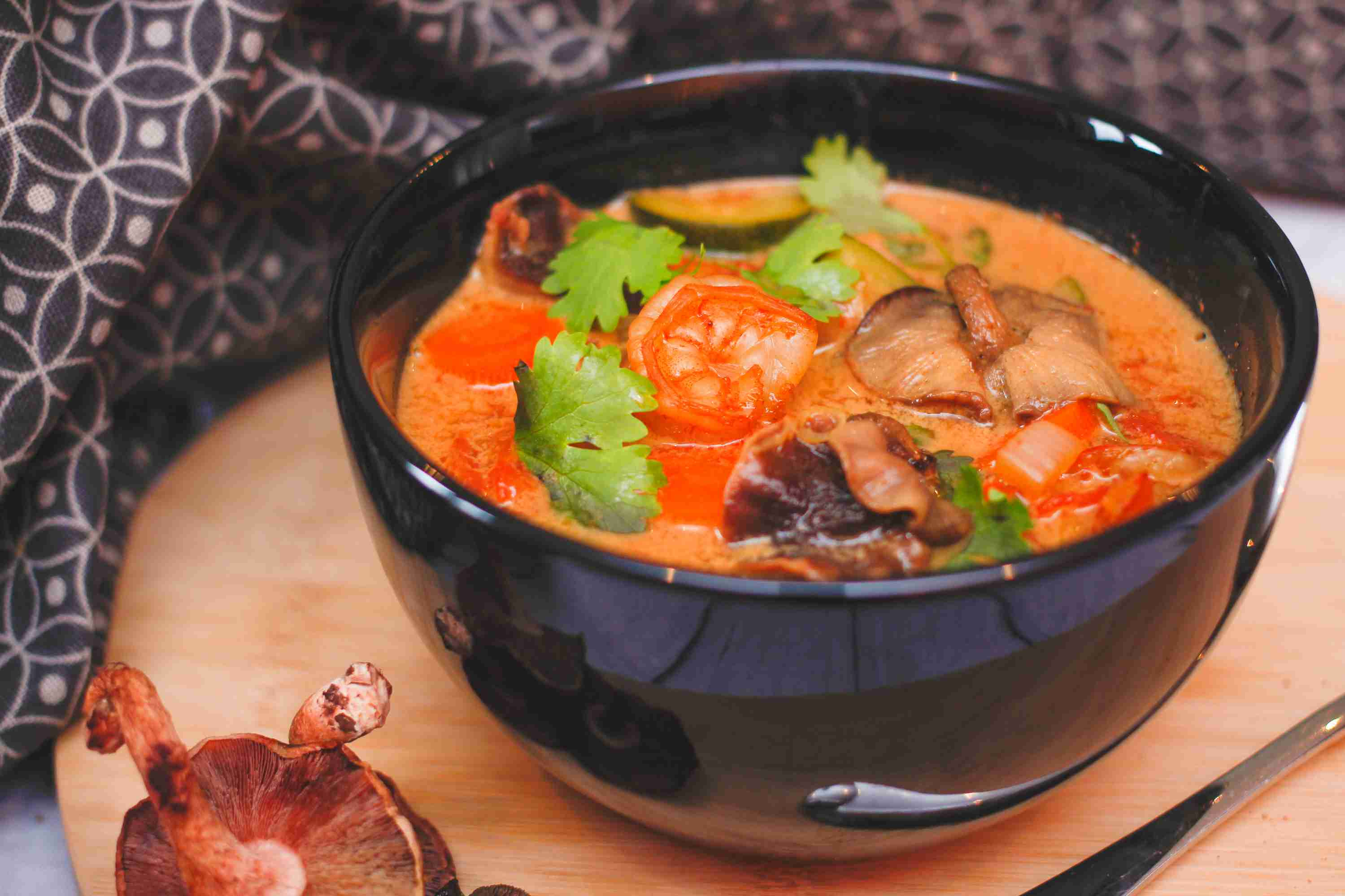 Thai Tom Yum Soup Recipe
