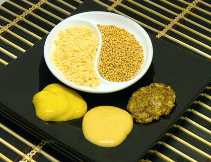 Mustard Seeds, Powder, and Ground Mustard