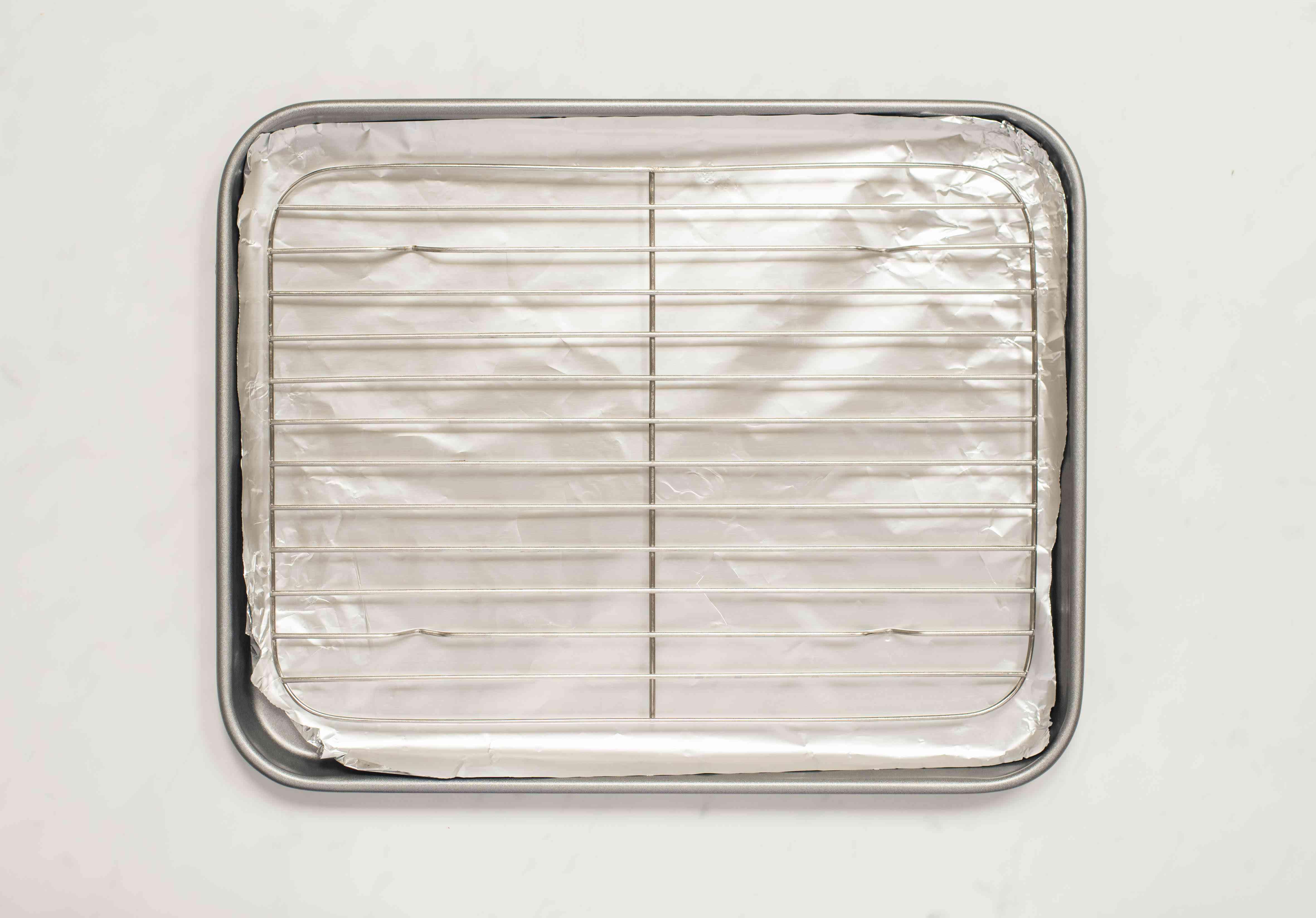 Line a baking pan