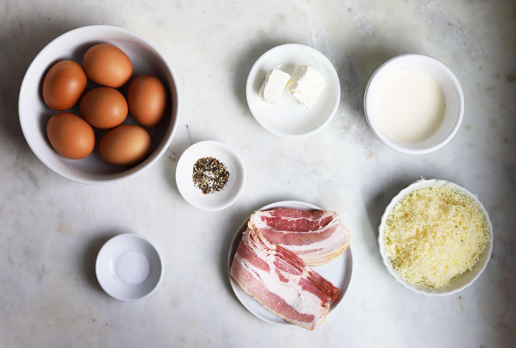sous vide egg bite ingredients