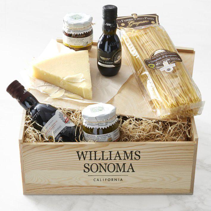 Williams Sonoma Italian Pantry Gift Crate