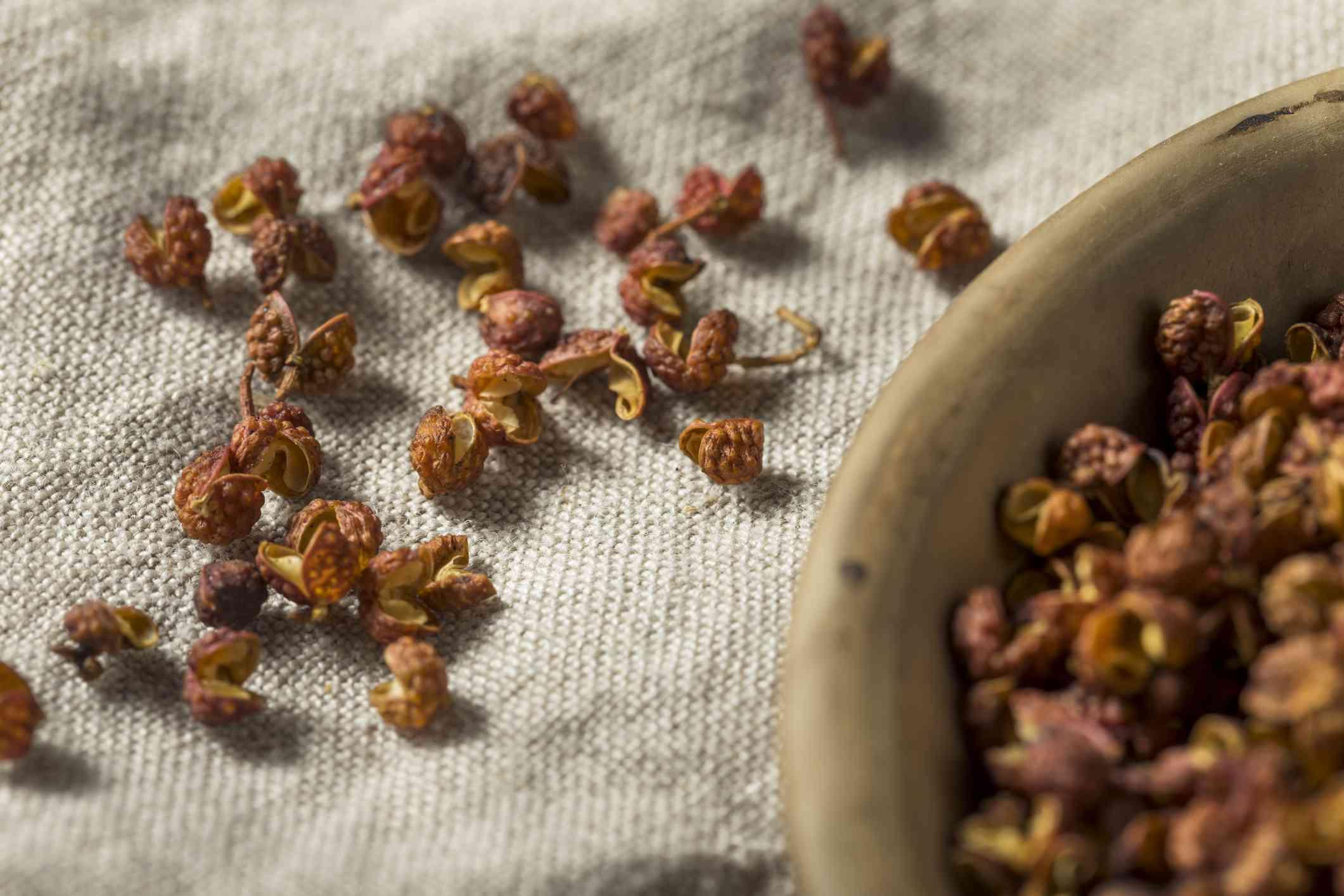 Raw Organic Dry Szechuan Peppercorns