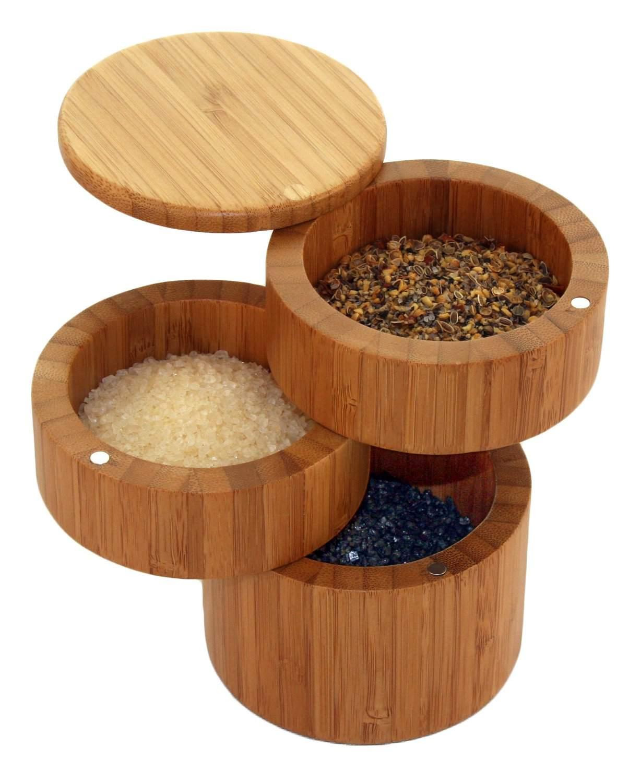 Totally Bamboo Salt Cellar
