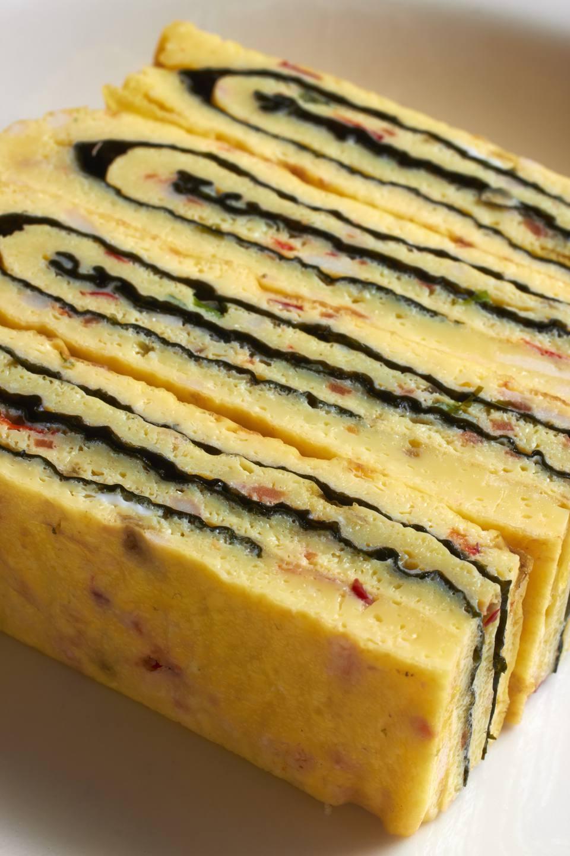 Receta de tortilla de huevo enrollada coreana (Gaeran Mari)