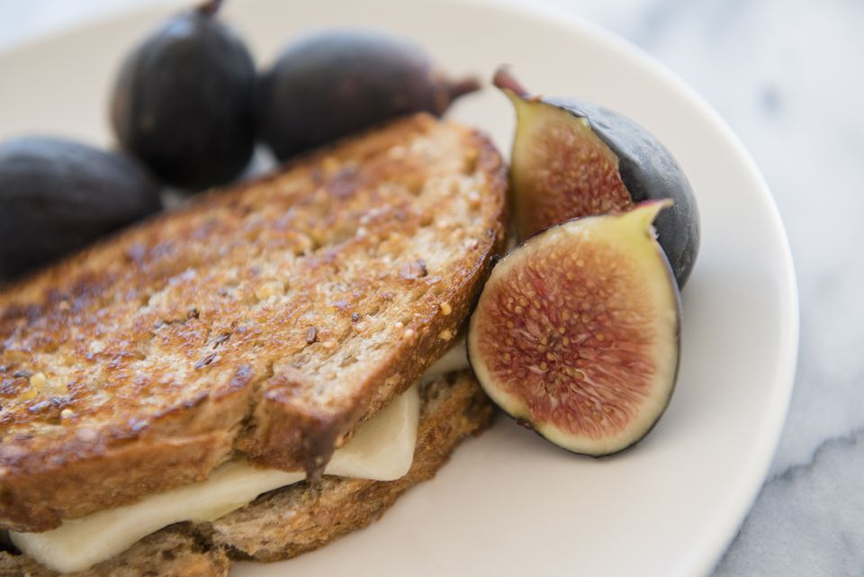Fig grilled cheese