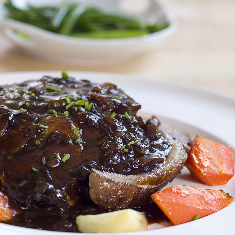 Blackberry and Red Wine Sauce