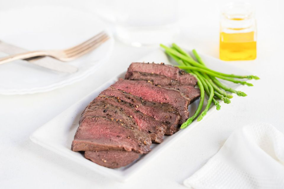 Basic Broiled Top Round Steak