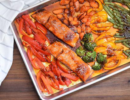 Sheet Pan Salmon Teriyaki