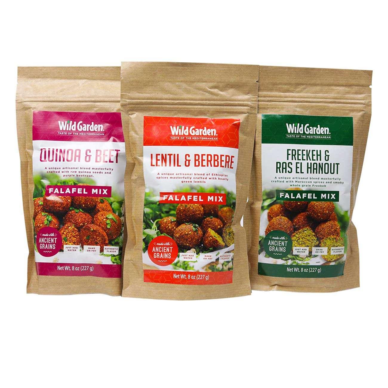 Wild Garden Ancient Grains Falafel Mix Variety Pack