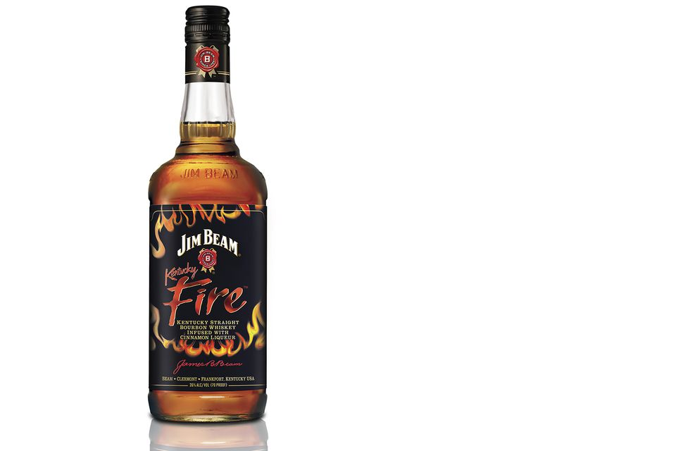 Jim Beam Kentucky Fire Cinnamon Flavored Bourbon Whiskey