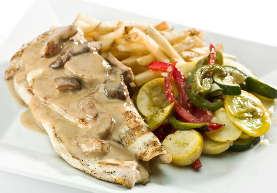 Mushroom sauce for chicken