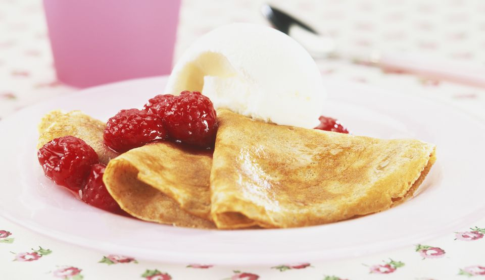 Fruity Crepes Suzette