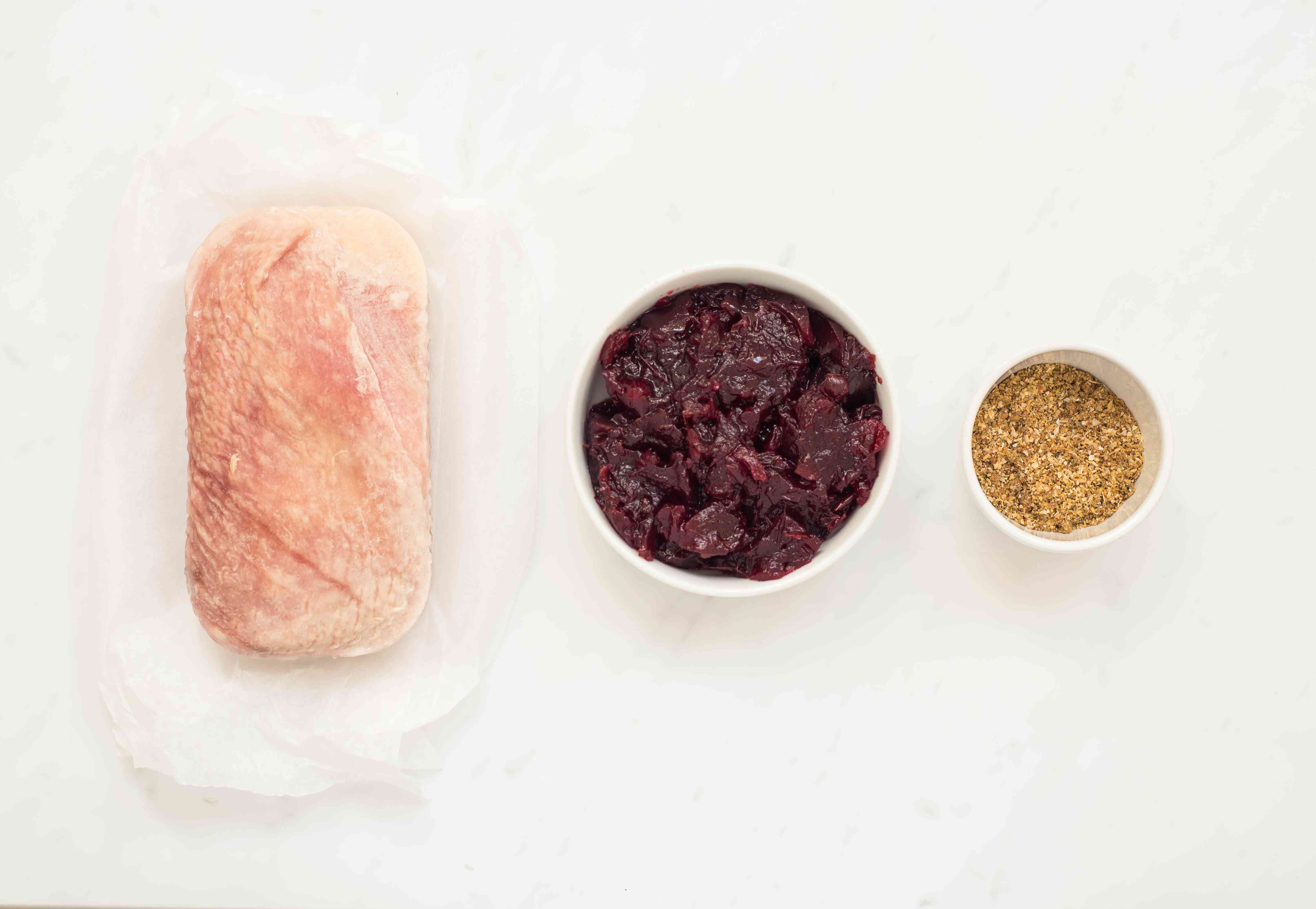 Ingredients for crockpot turkey