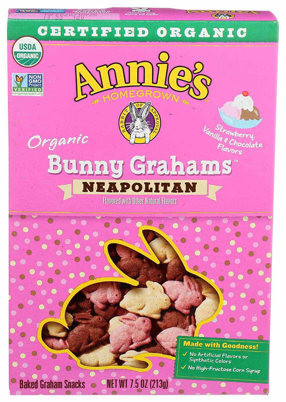 Annie's Neapolitan Bunny Grahams