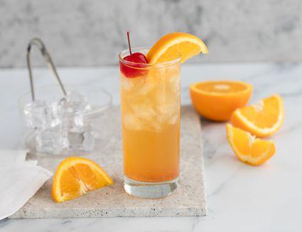 Black eyed susan cocktail