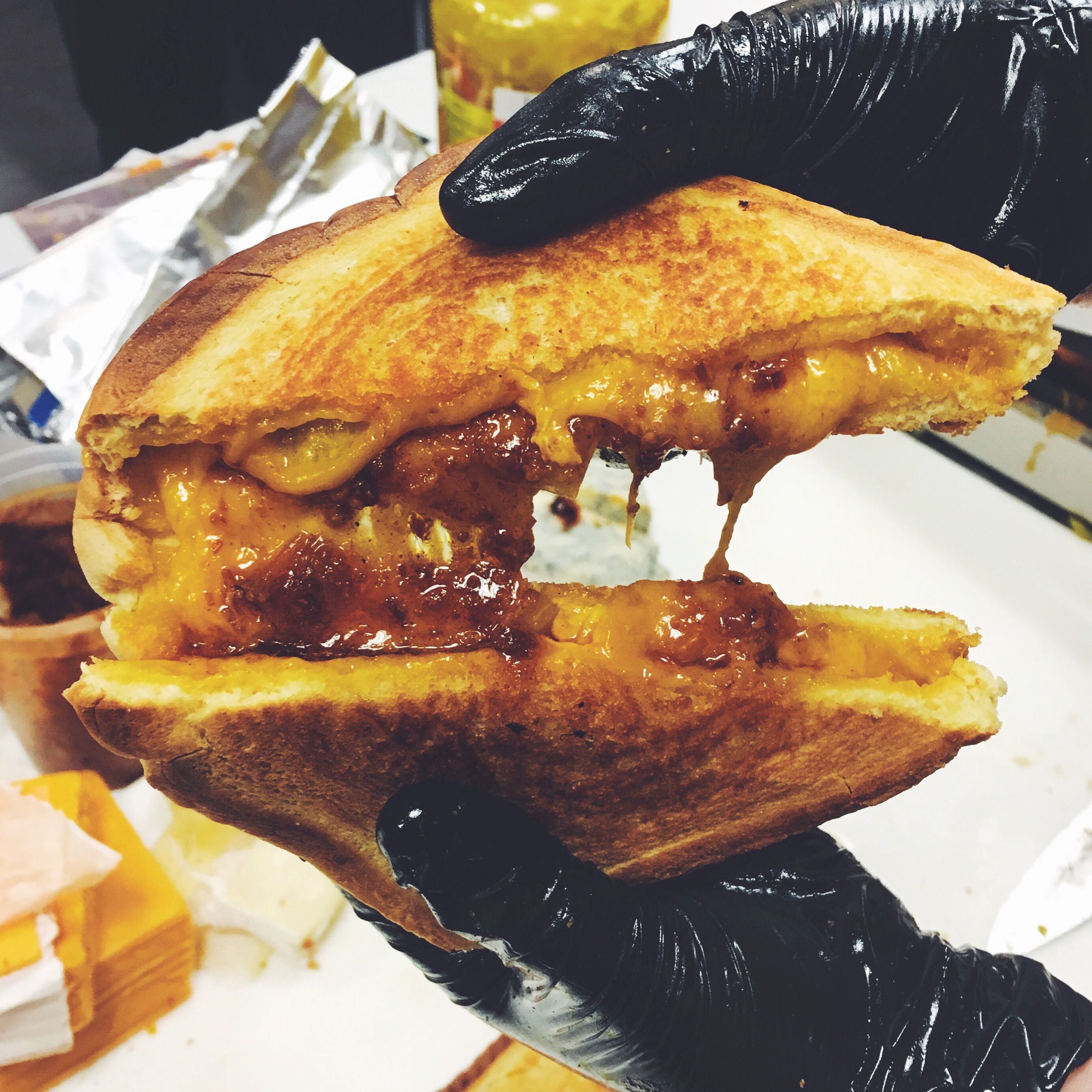 Sweet and Savory Wisconsin Cheese Grilled Cheese