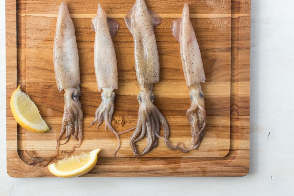 Raw Squid/Calamari