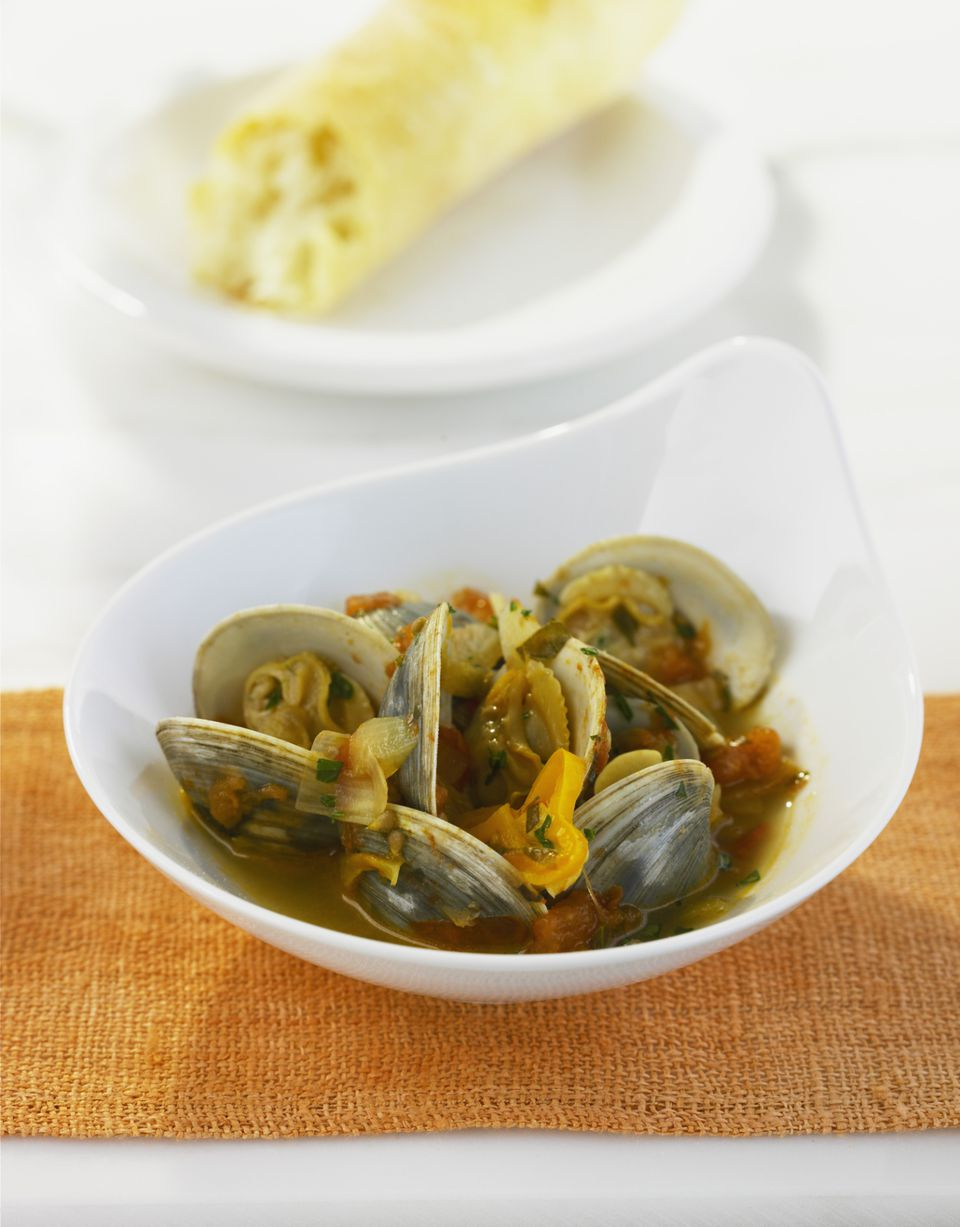 Murcian Style Clams Recipe