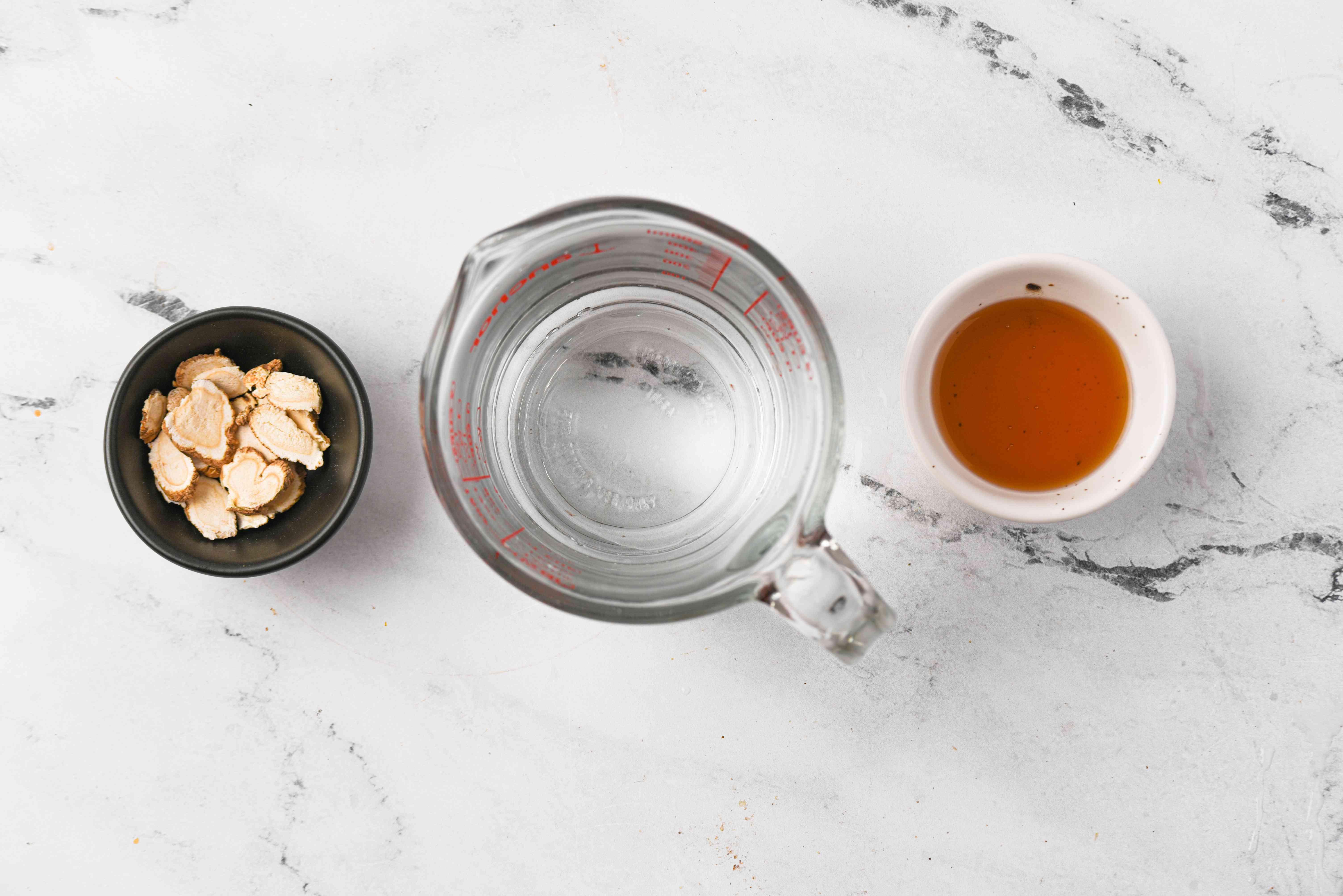 Korean Ginseng Tea (Insam Cha) ingredients