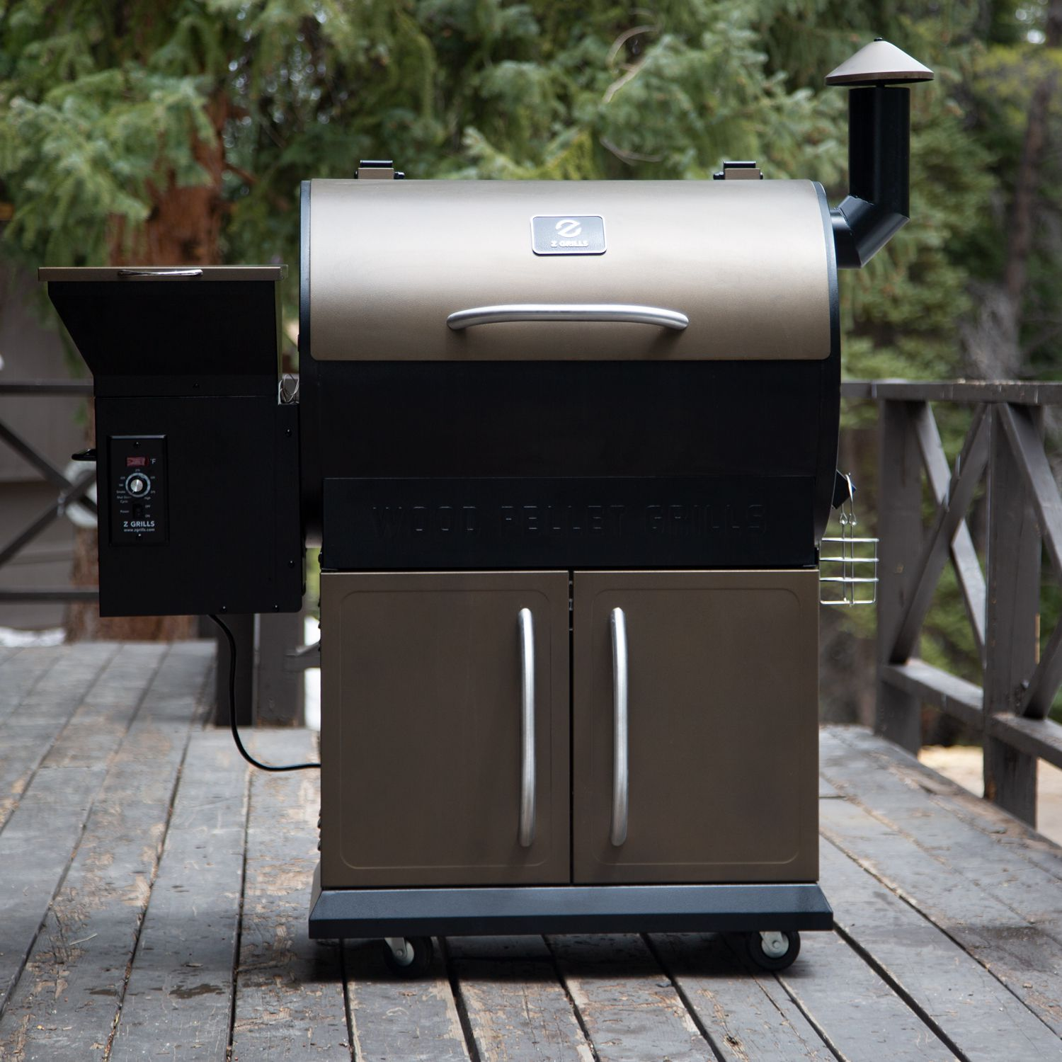 Z Grills 700d Wood Pellet Smoker Review A Feature Rich Grill For The Price