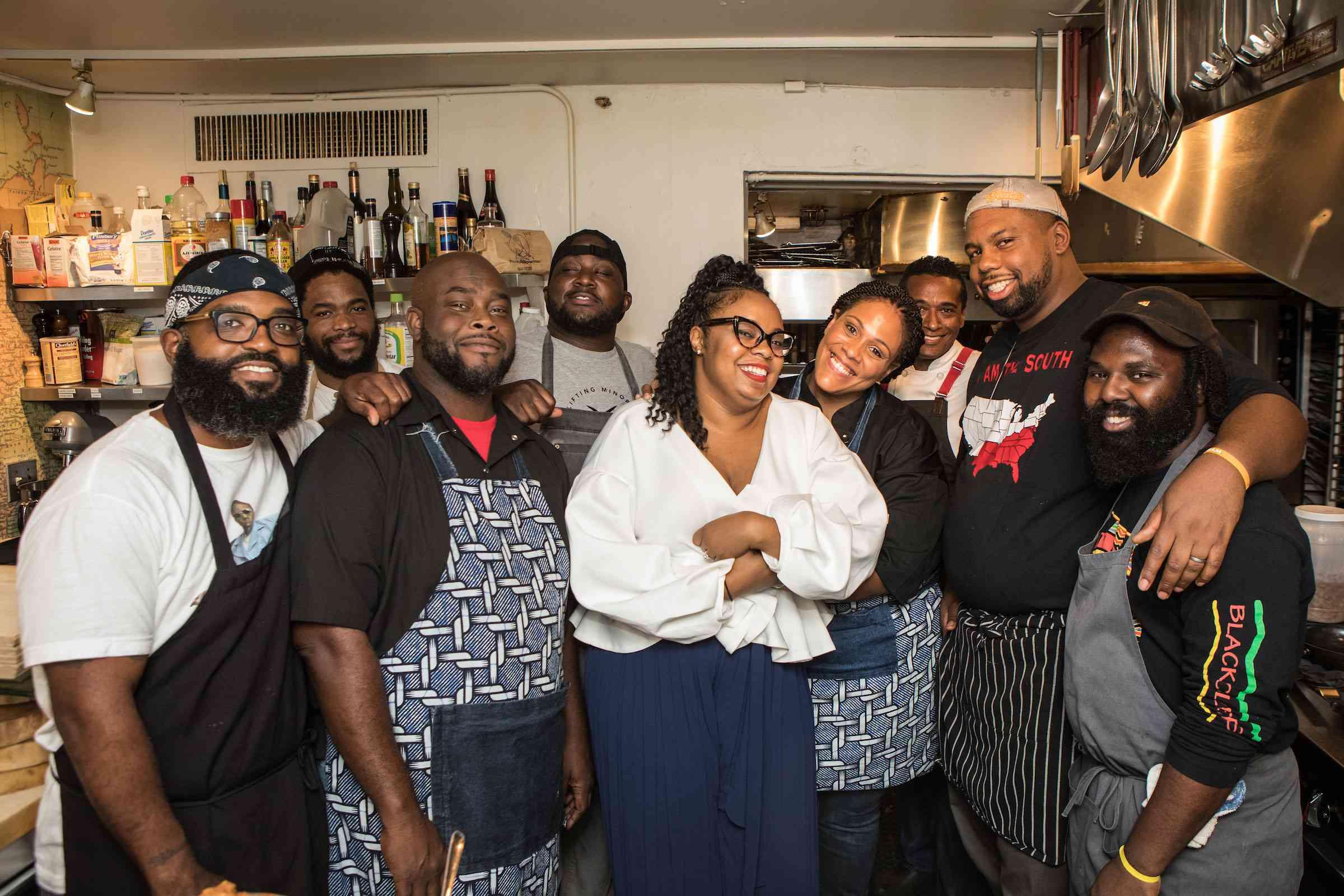 Black Food Folks Chefs in Kitchen