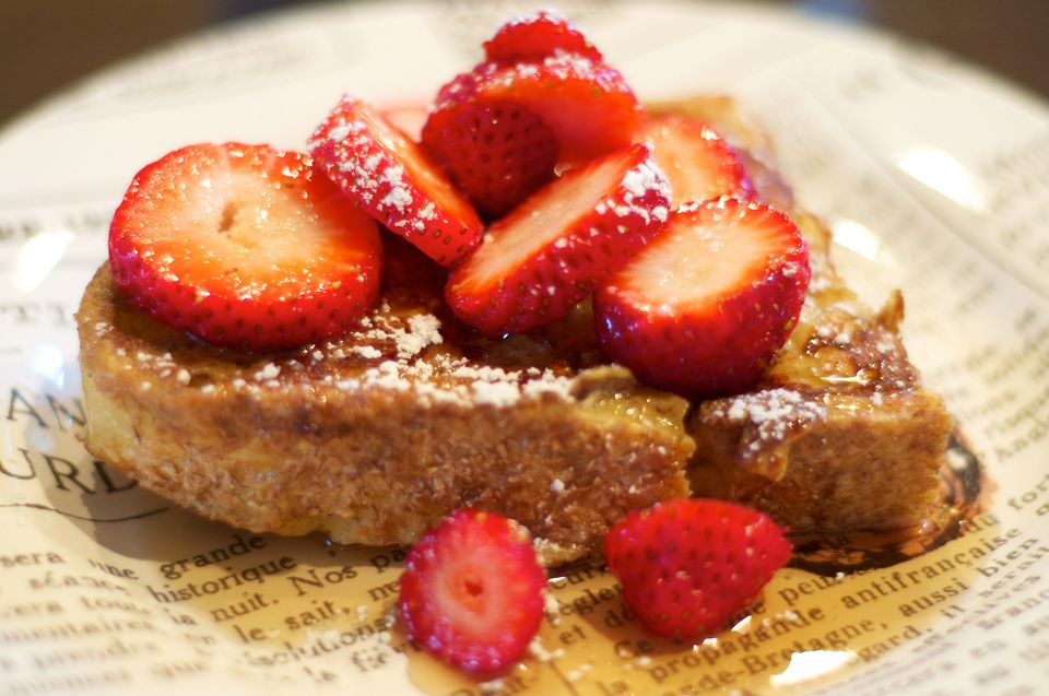 Delicious Baked Creme Brulee French Toast