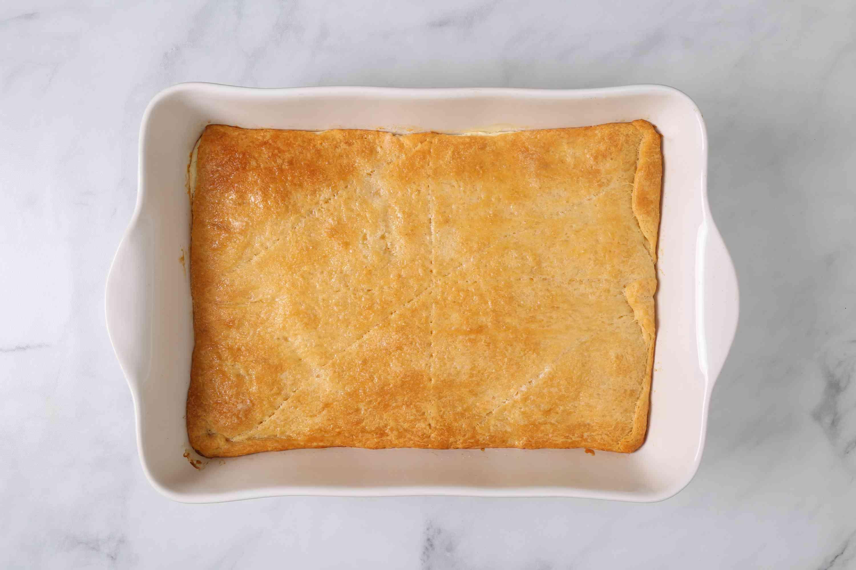 Easy Cheese Danish in a baking pan