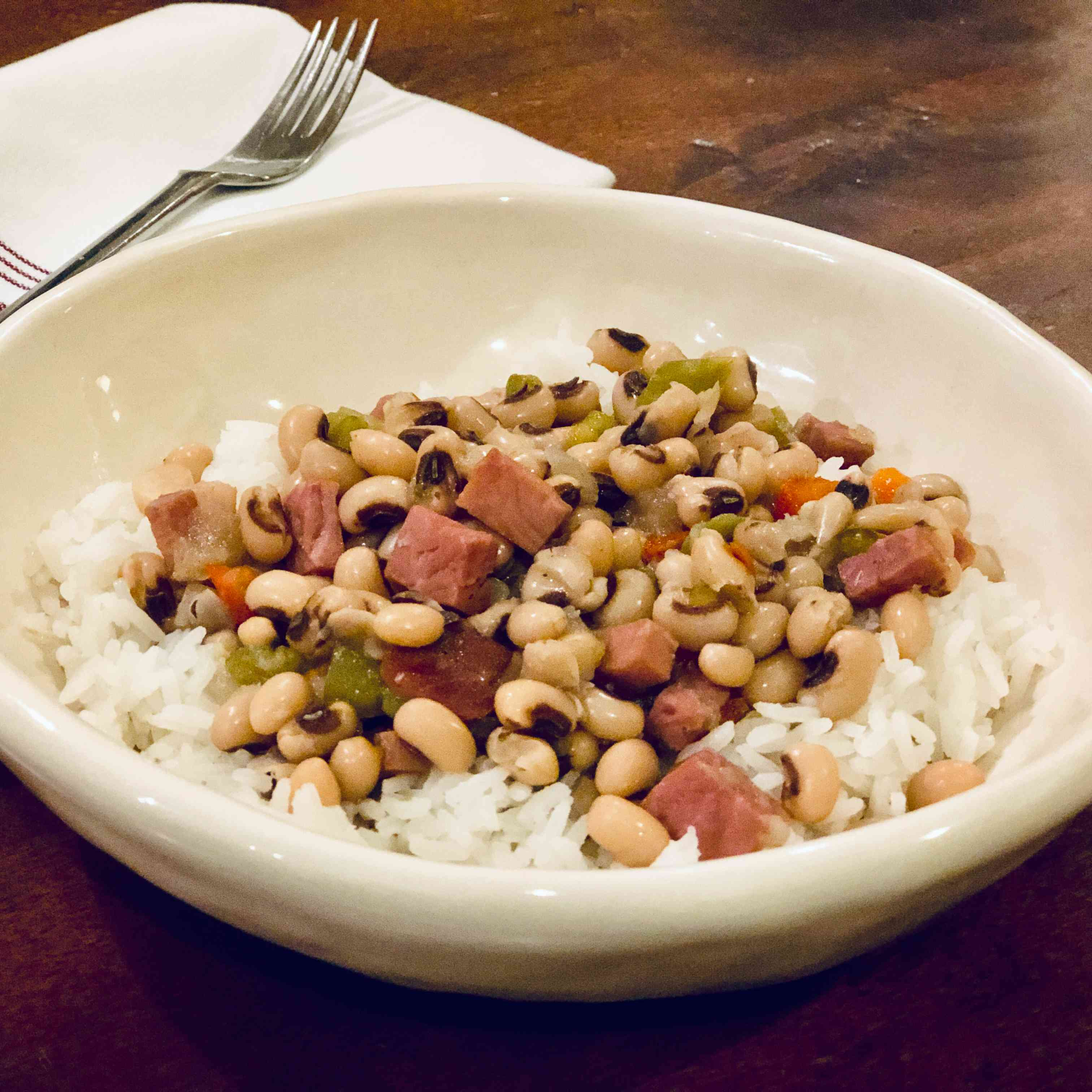 Spicy Southern Black-Eyed Peas Tester Image