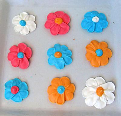 frosting flowers