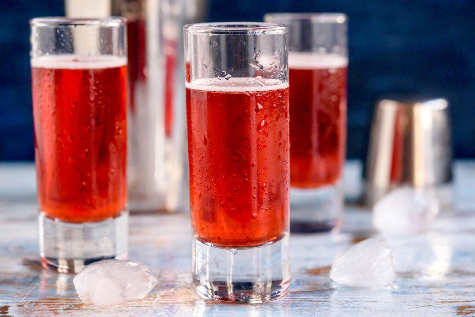 Red Snapper Shot Drink