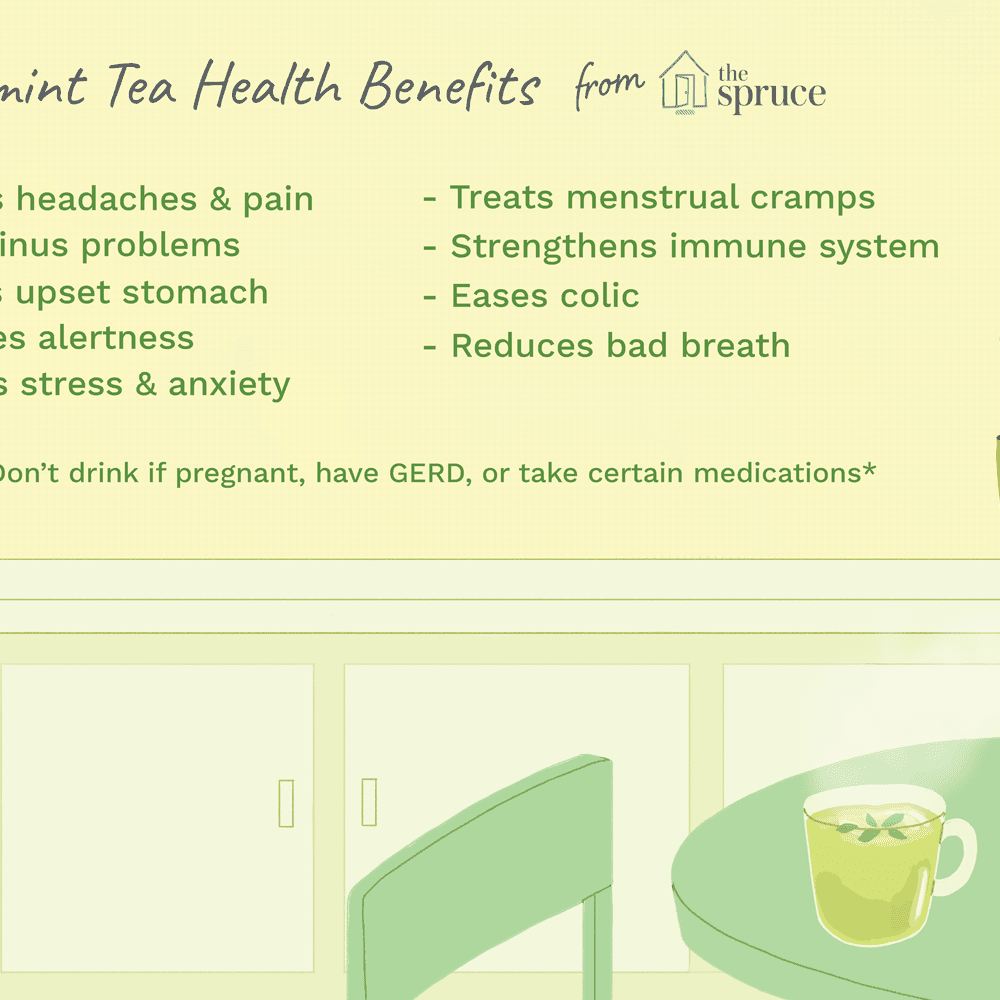 Peppermint Tea Health Benefits and Side Effects