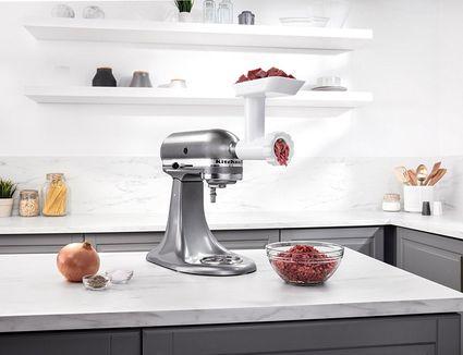 Kitchenaide food grinder attachment