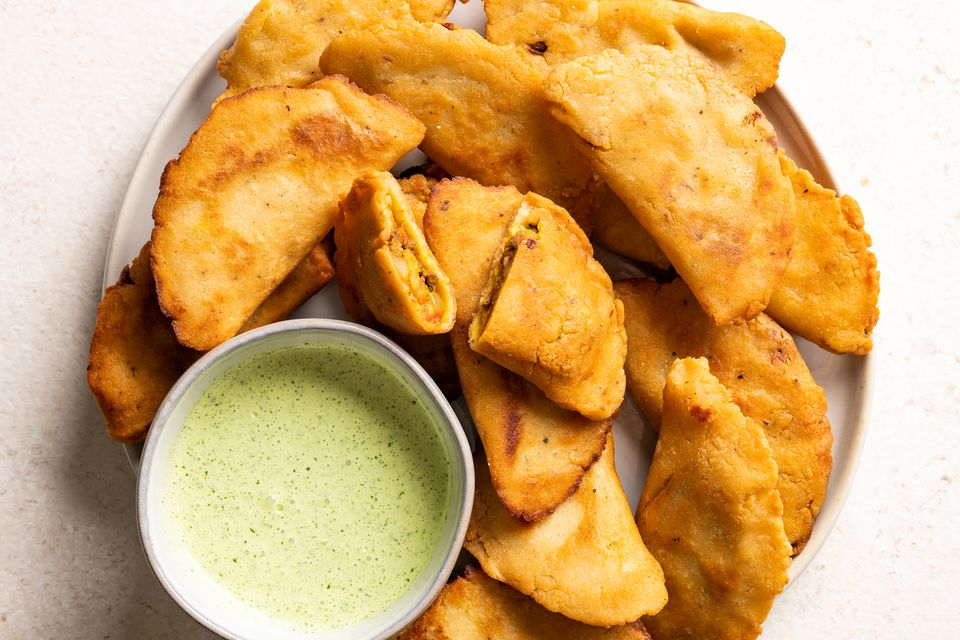 Colombian Empanadas: Fried Empanadas With Beef and Potato Filling