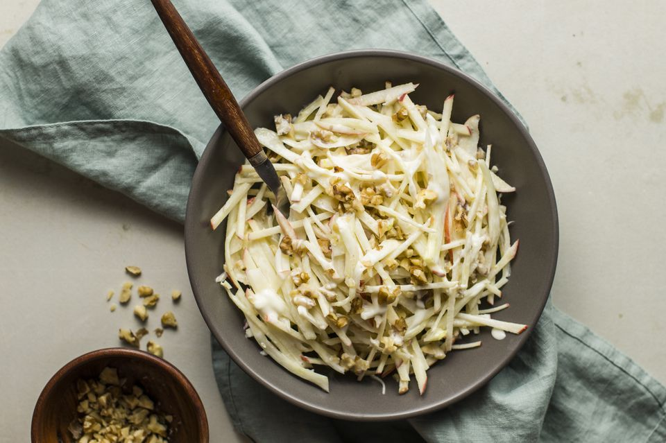 Heathy fennel and apple salad recipe