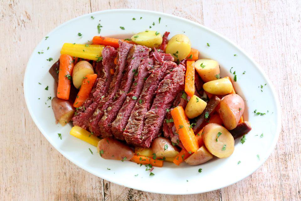 Instant Pot Corned Beef Dinner