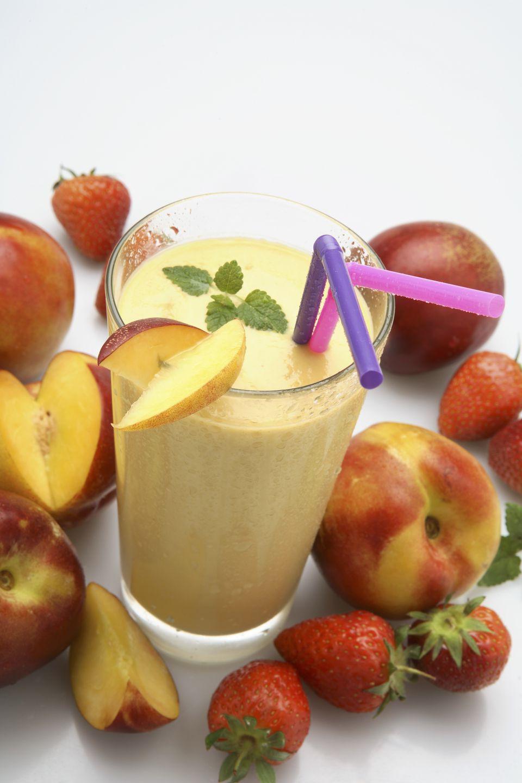 Peach Milk Shake