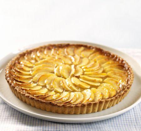 French Apple Tart Recipe With Pastry Cream Recipe
